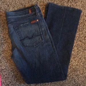 7FAMK Boot Cut Jean